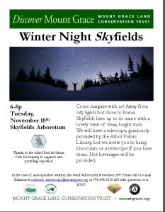 Skyfields Night Sky 11-18-2014
